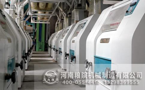 面粉加工设备使用输送机的过程