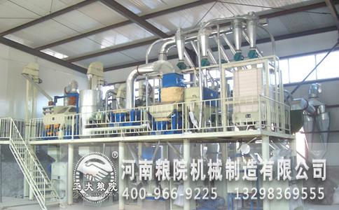 挤压与研磨是面粉加工设备的重要加工程序